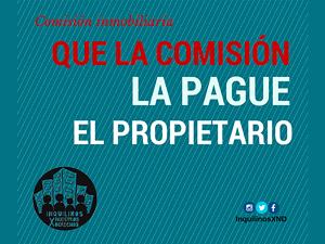 Proponen también que la comisión máxima no exceda el 4,15% del total del contrato.